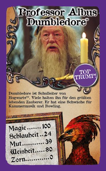 Top Trumps Harry Potter und der Gefangene von Askaban
