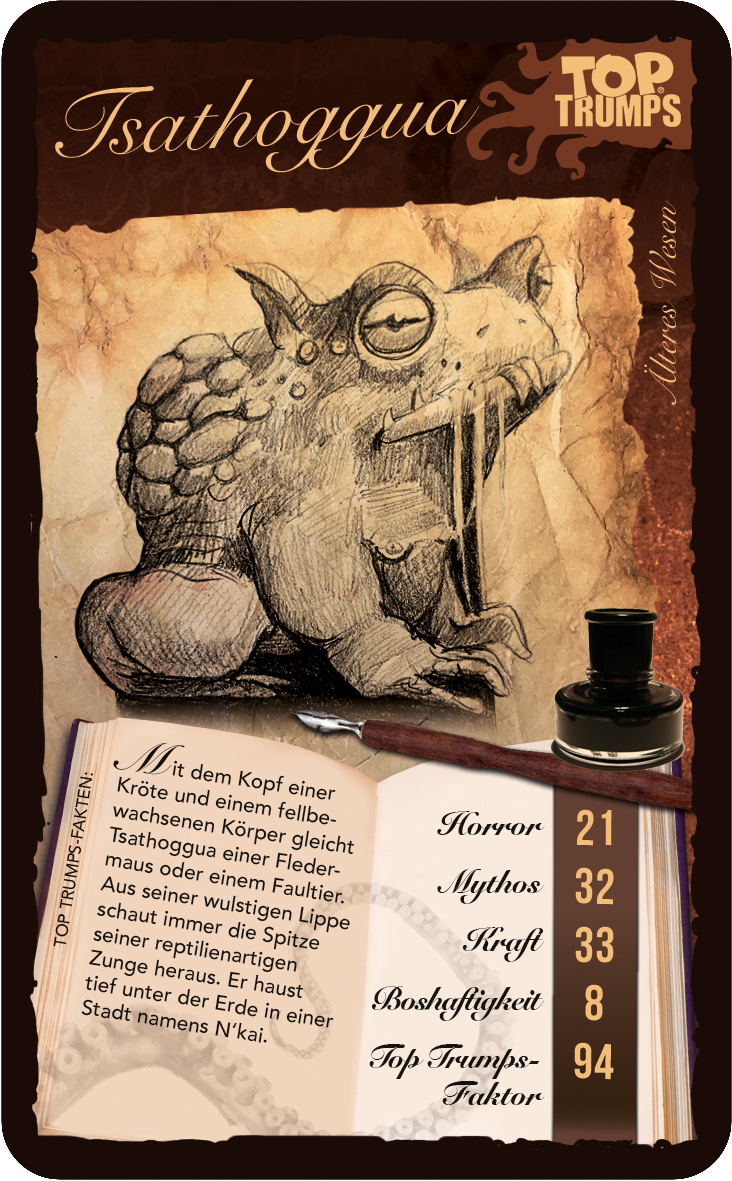 Top Trumps Cthulhu
