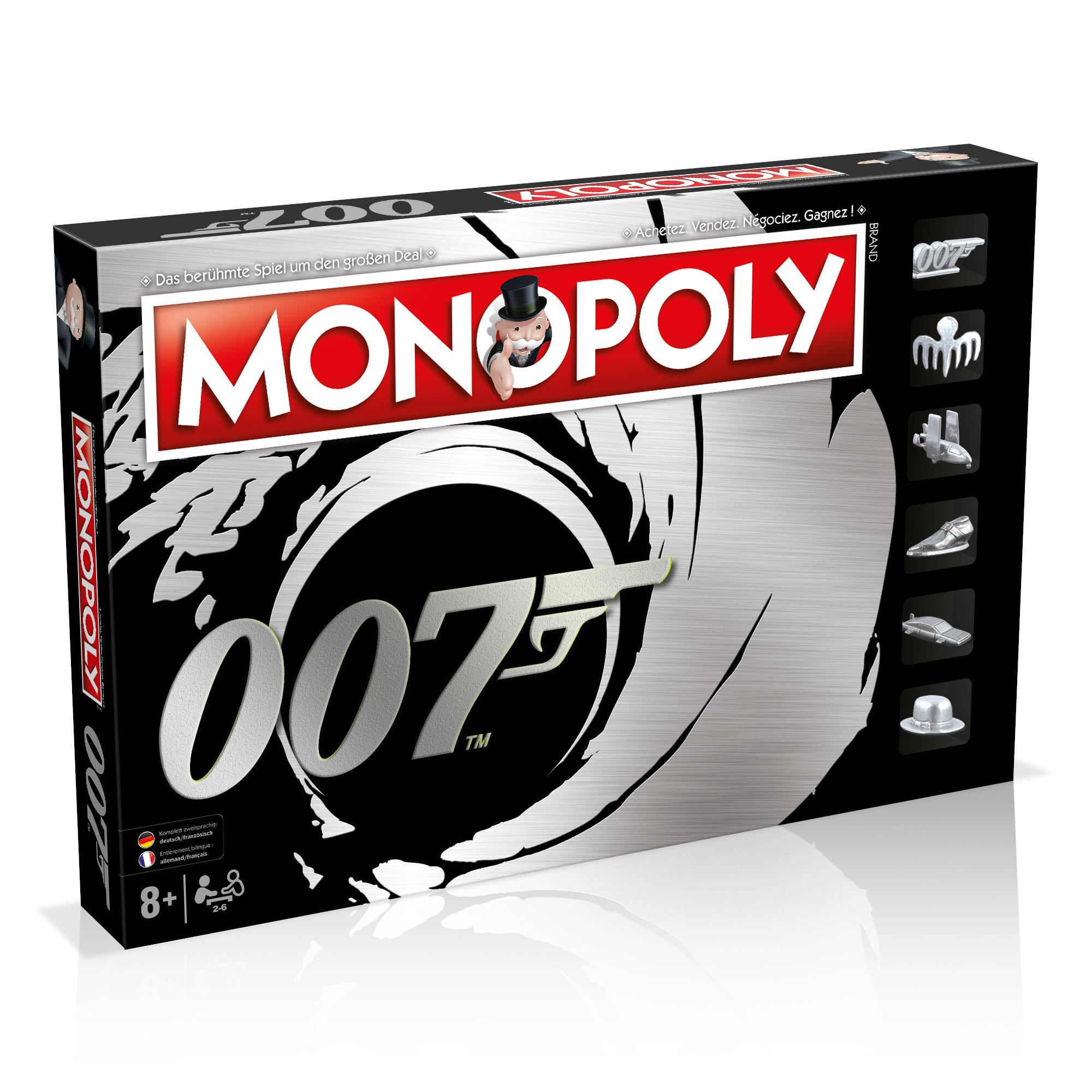 Monopoly James Bond Deutsch/Französisch
