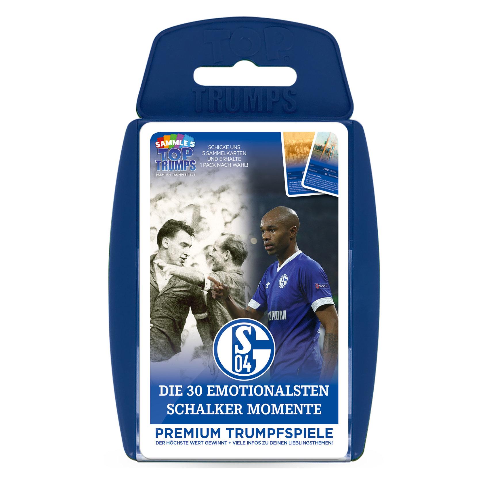 Top Trumps FC Schalke 04 Die emotionalsten Schalker Momente