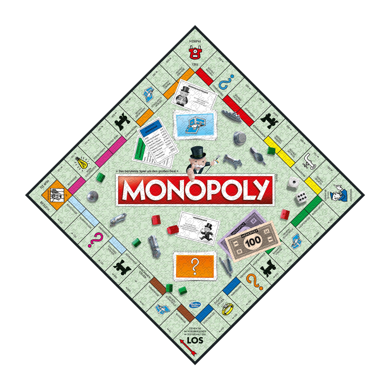 Monopoly No. 9 Original - Das Puzzle - 1000 Teile