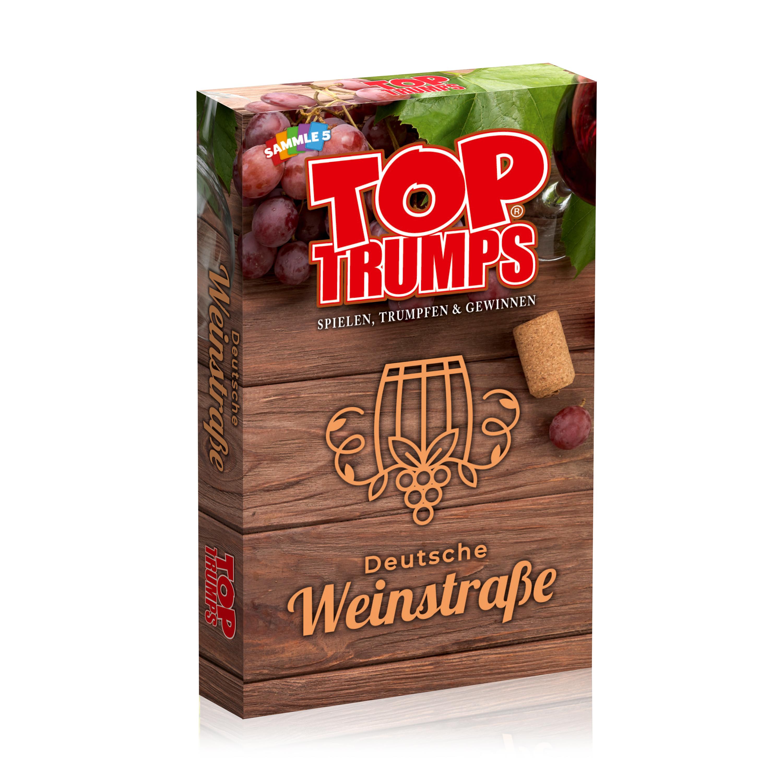 Monopoly Deutsche Weinstrasse inkl. Top Trumps