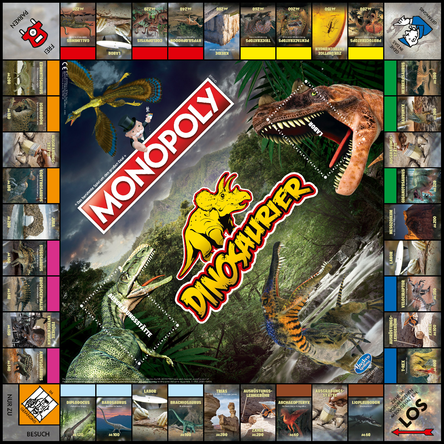 Monopoly Dinosaurier
