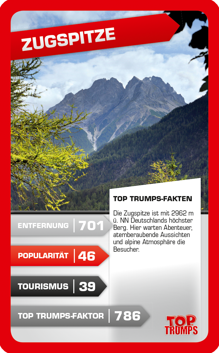 Top Trumps 30 eindrucksvolle Highlights Deutschlands