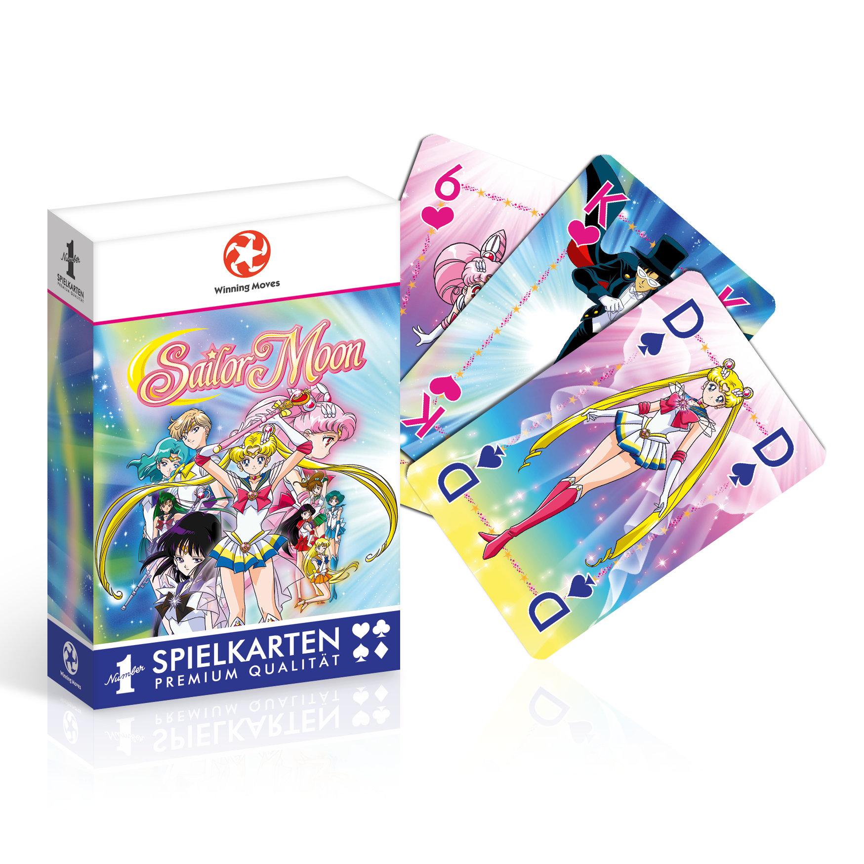 Number 1 Spielkarten Sailor Moon