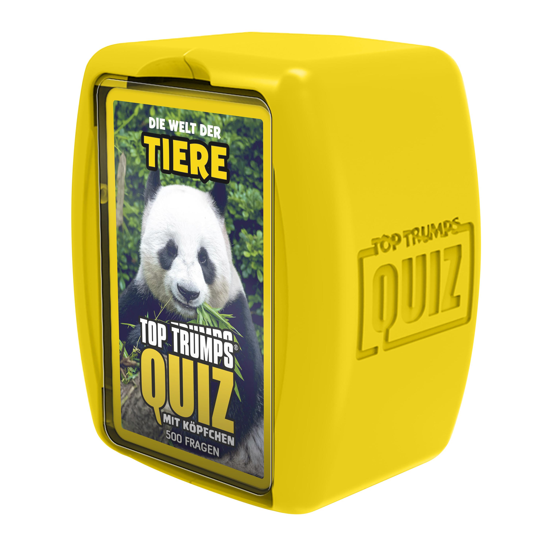 Top Trumps Quiz Welt der Tiere
