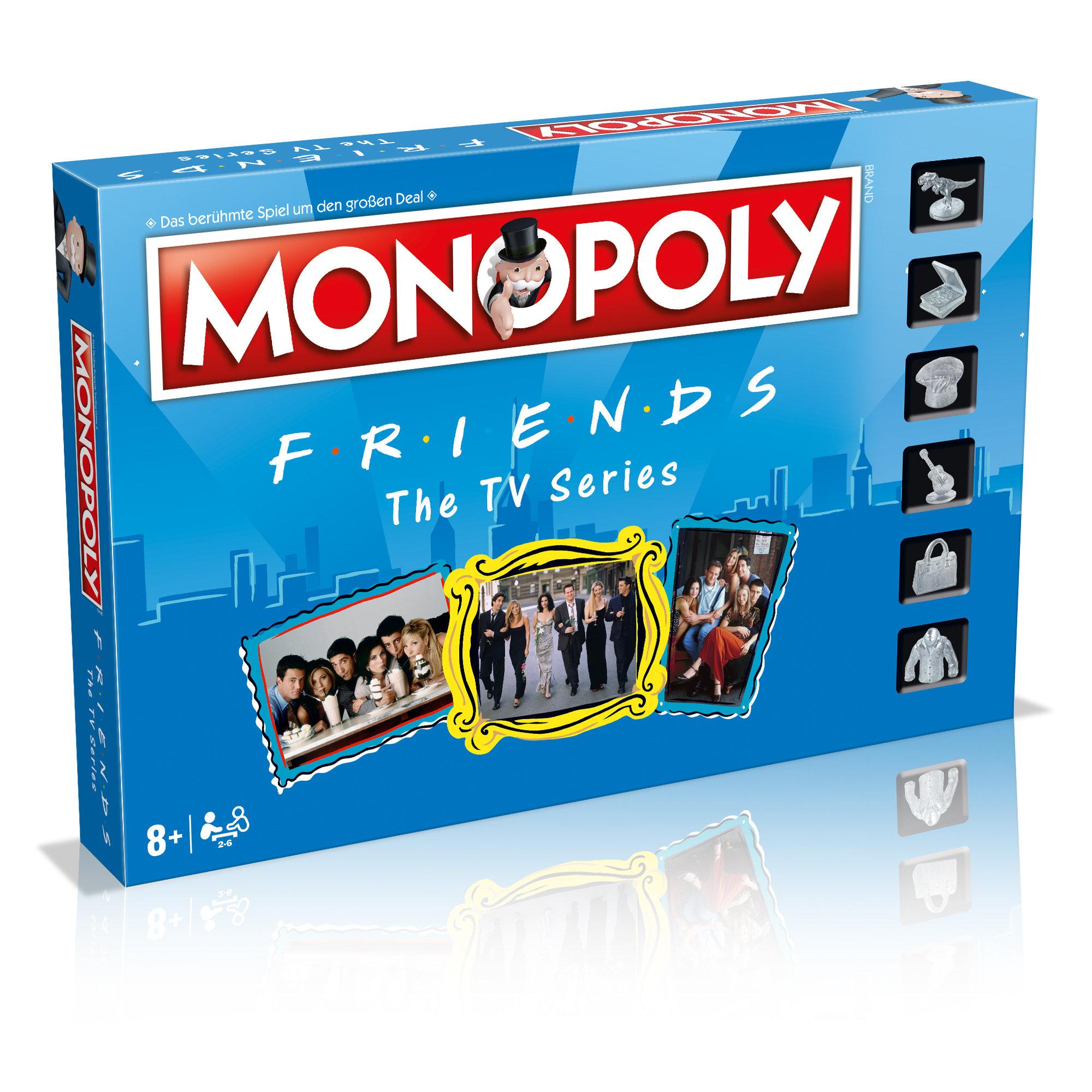 Monopoly Friends deutsch