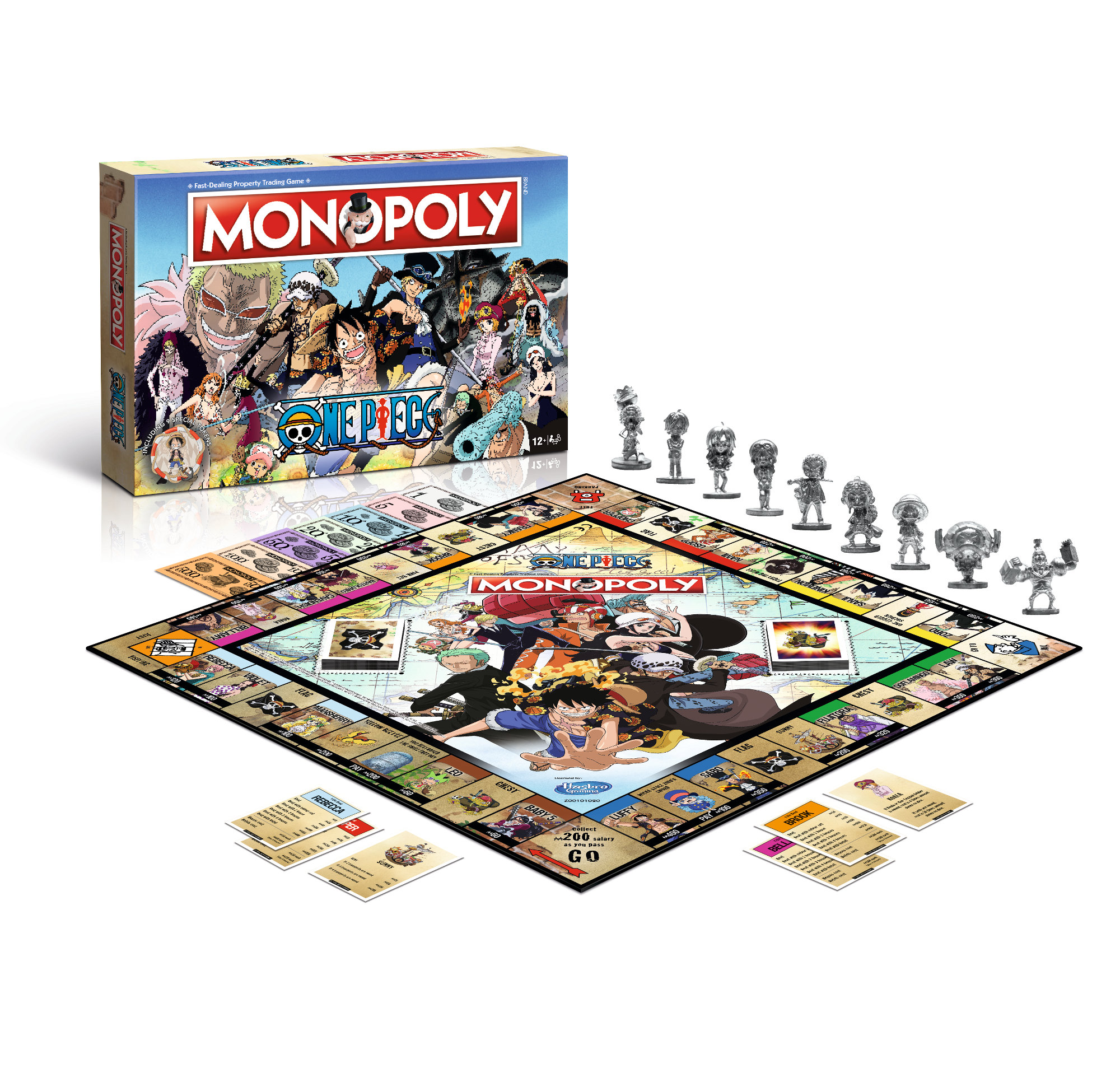 Monopoly One Piece englisch