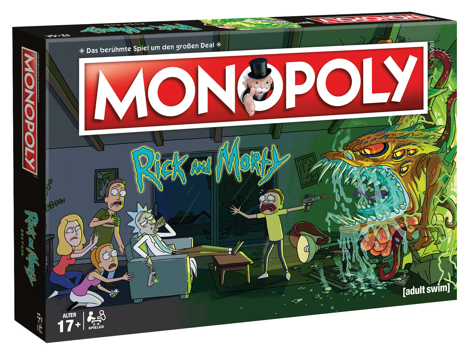 Monopoly Rick and Morty deutsch