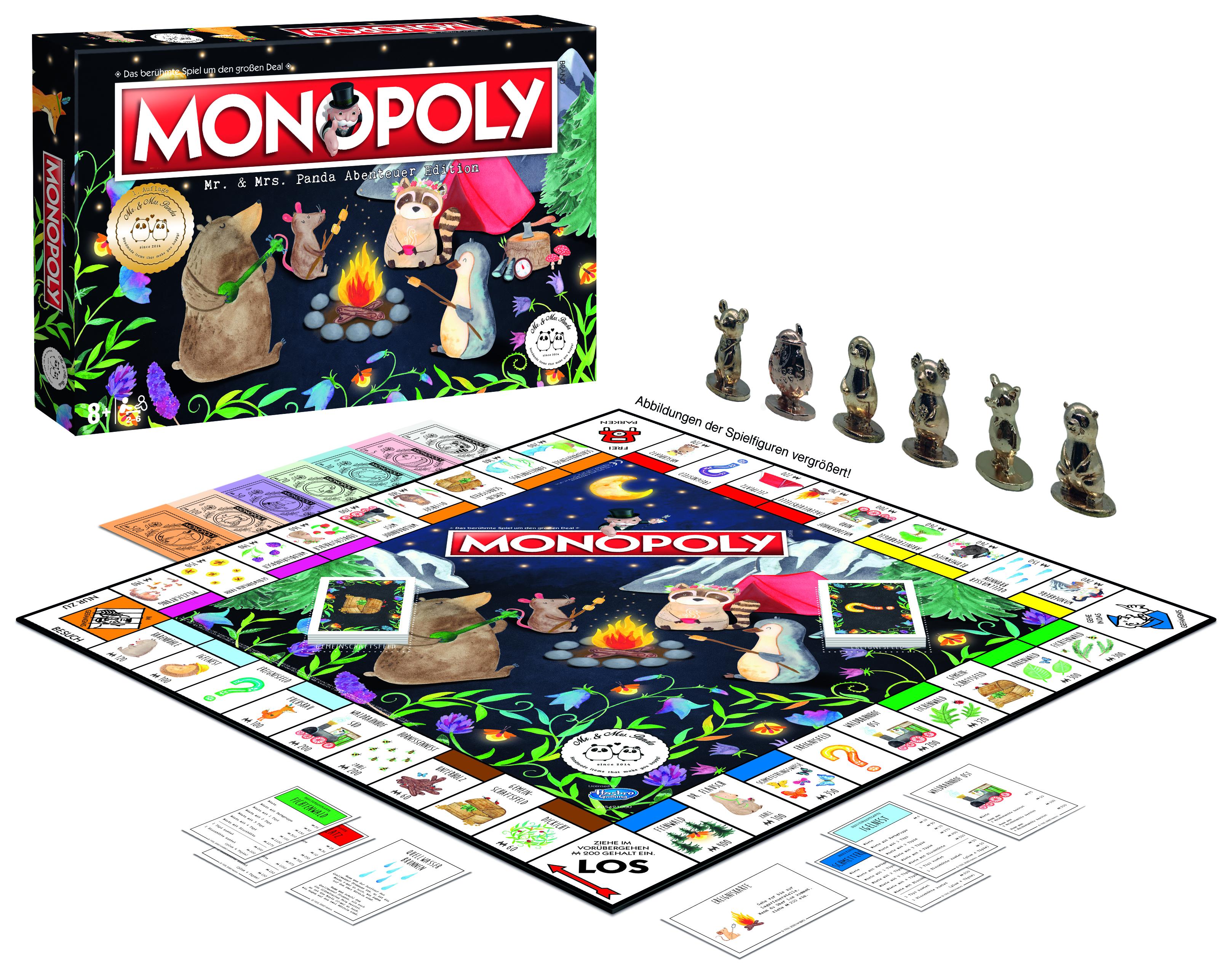 Monopoly Mr und Mrs Panda
