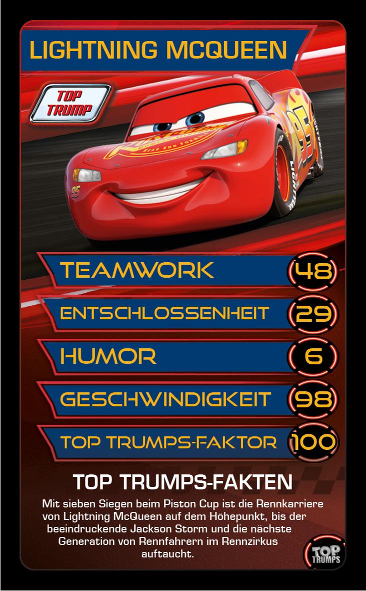 Top Trumps Disney Cars 3