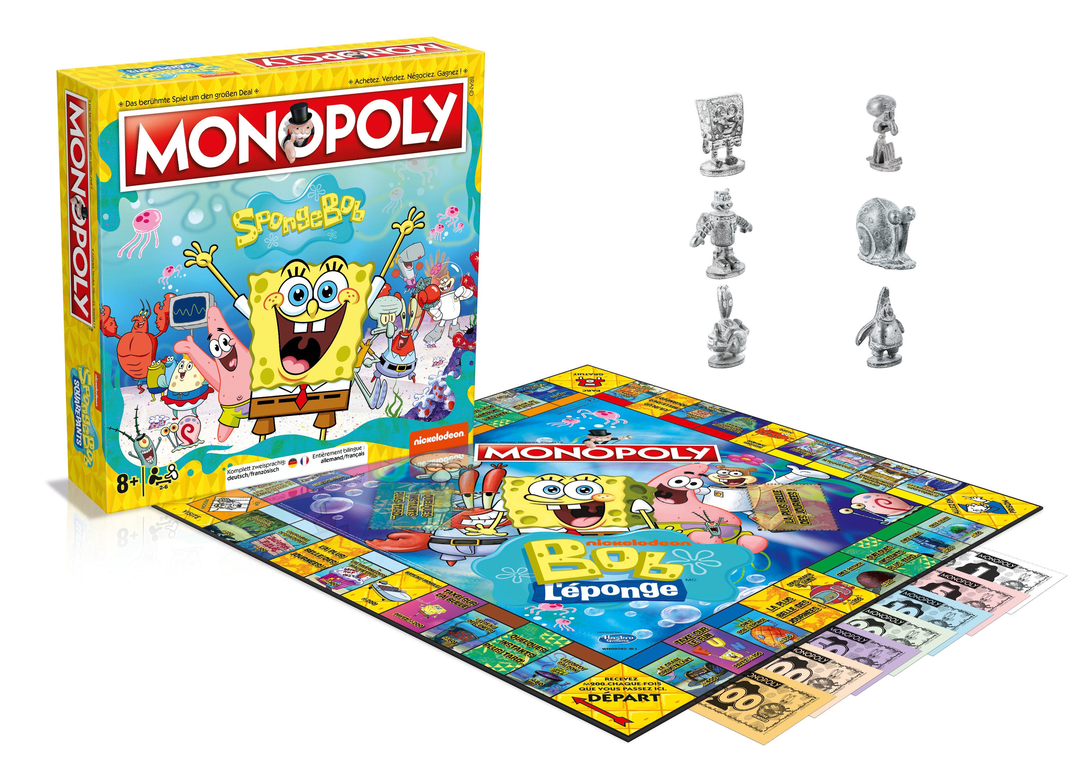 Monopoly Spongebob Squarepants deutsch/französisch