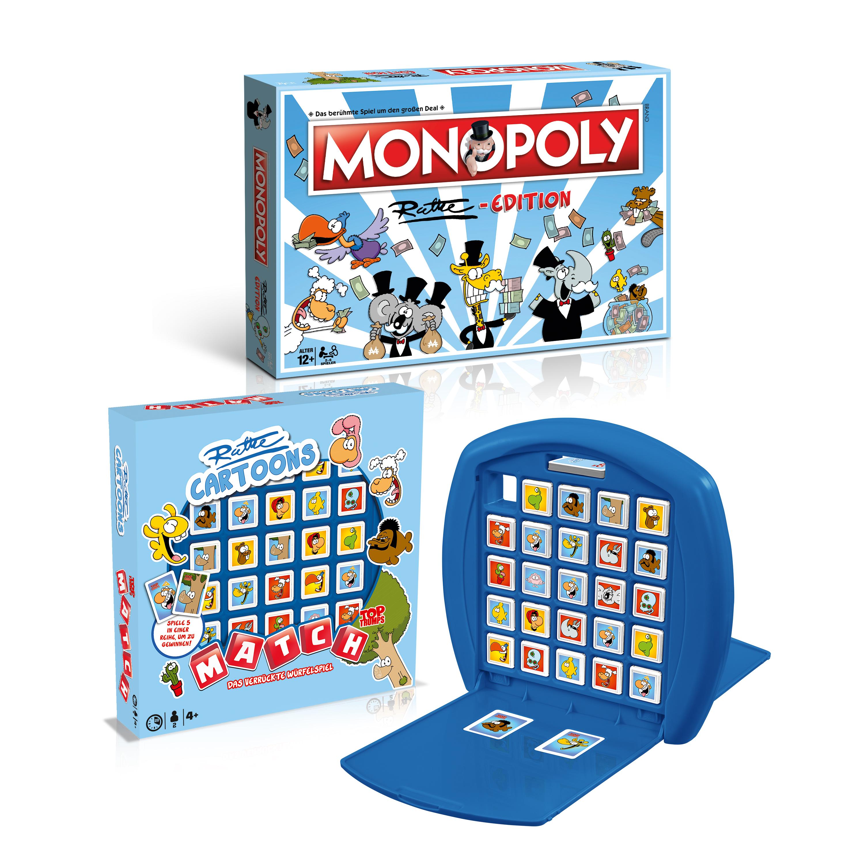Monopoly und Match Ruthe Bundle