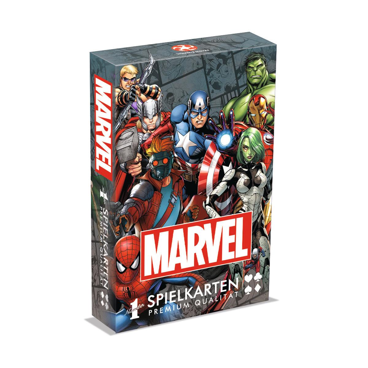 Number 1 Spielkarten Marvel Universe